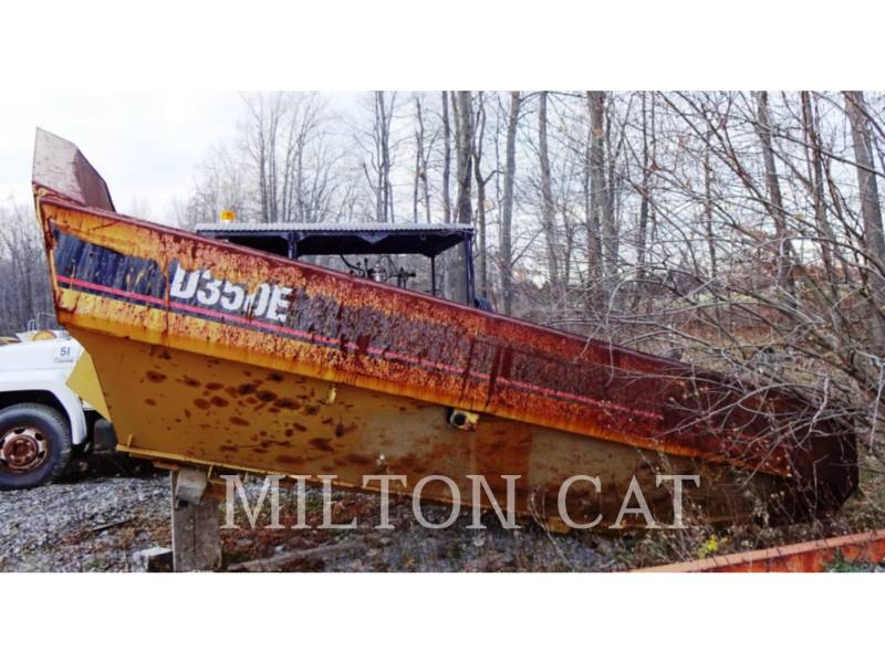 CATERPILLAR PESO - CASSONE D350E equipment  photo 3