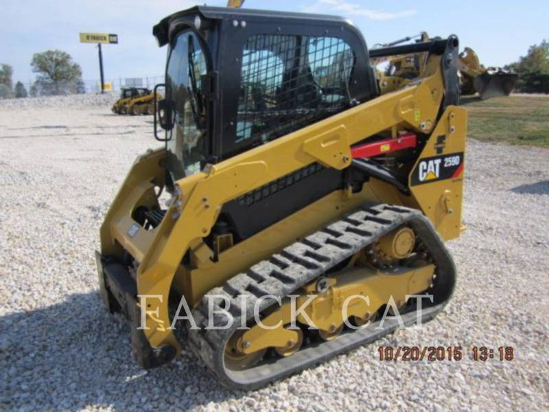 CATERPILLAR CHARGEURS TOUT TERRAIN 259D C3H4 equipment  photo 2