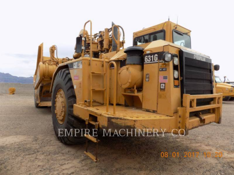 CATERPILLAR MOTOESCREPAS 631G equipment  photo 1