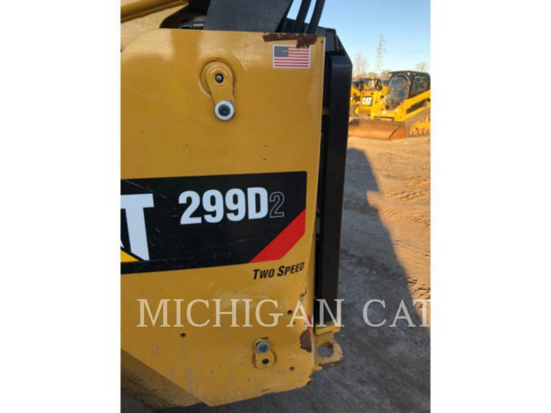 CATERPILLAR CHARGEURS TOUT TERRAIN 299D2 equipment  photo 19