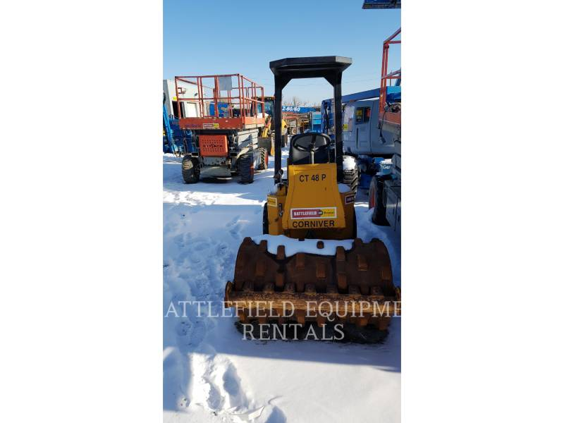 CORNIVER VIBRATORY SINGLE DRUM PAD CT48P equipment  photo 3