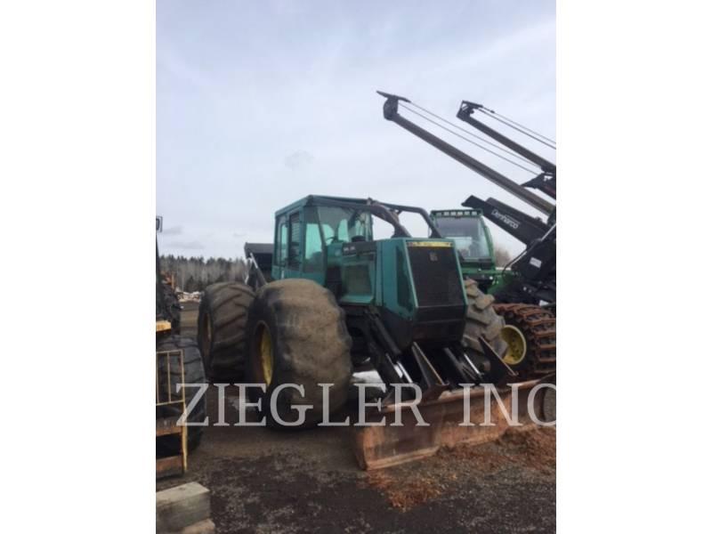 TIMBERJACK INC. FORESTRY - SKIDDER 460 equipment  photo 1