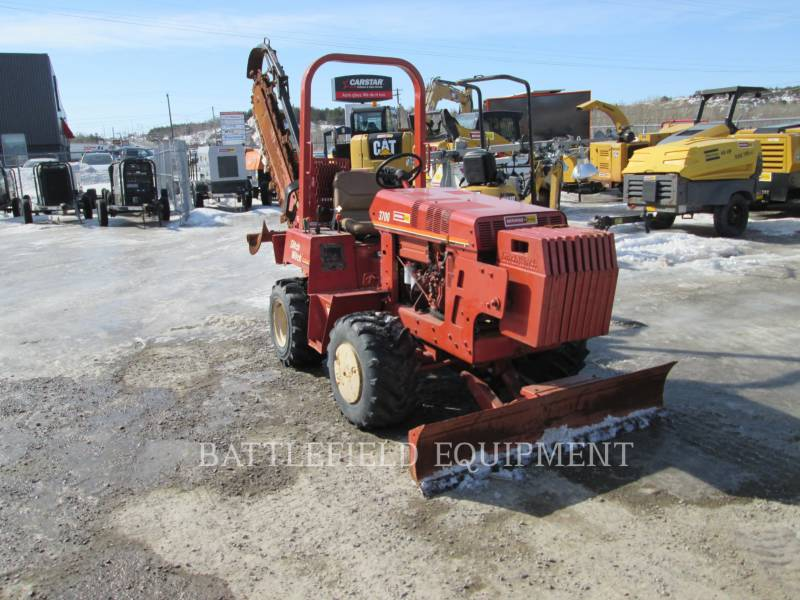 DITCH WITCH (CHARLES MACHINE WORKS) TRENCHERS 3700 equipment  photo 9