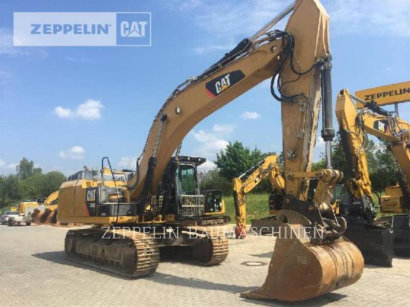 CATERPILLAR KETTEN-HYDRAULIKBAGGER 336ELN equipment  photo 1