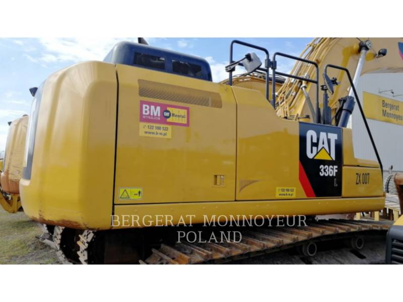 CATERPILLAR KETTEN-HYDRAULIKBAGGER 336F equipment  photo 14