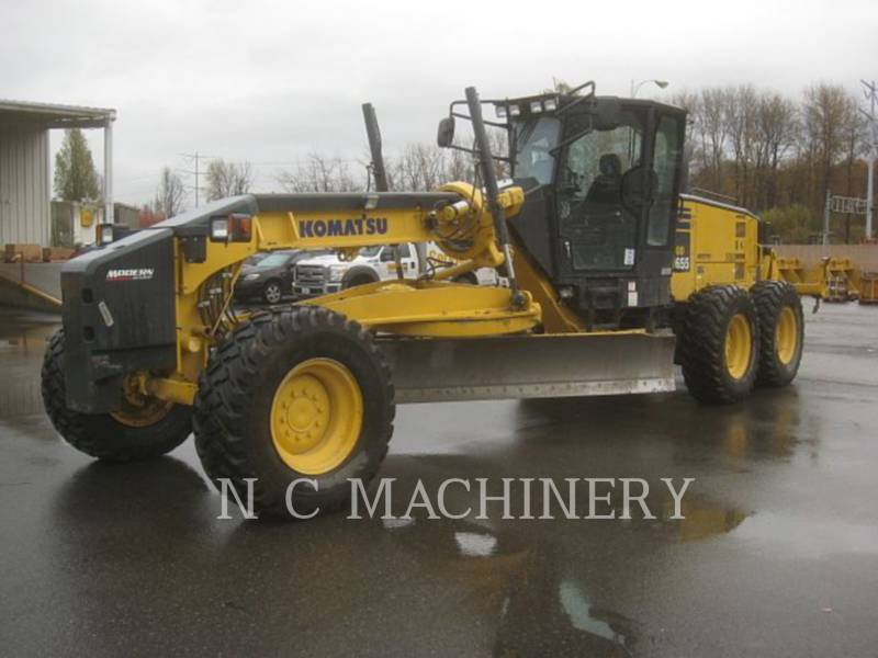 KOMATSU RÓWNIARKI SAMOBIEŻNE GD655-5 equipment  photo 1