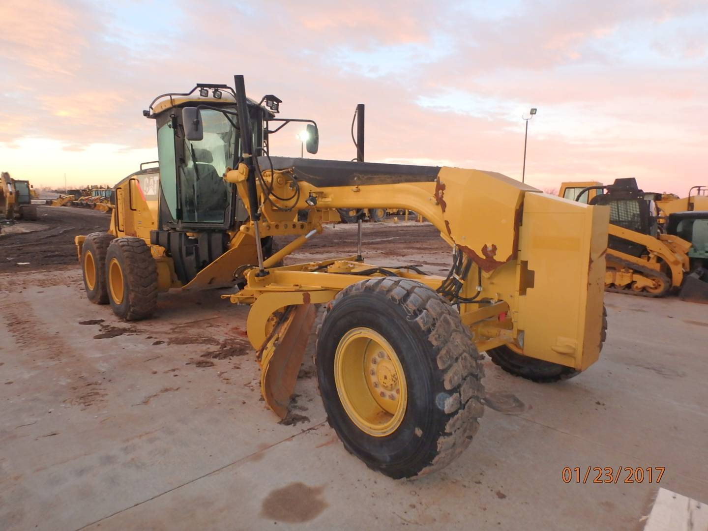 New 160m2 Motor Grader For Sale Walker Cat