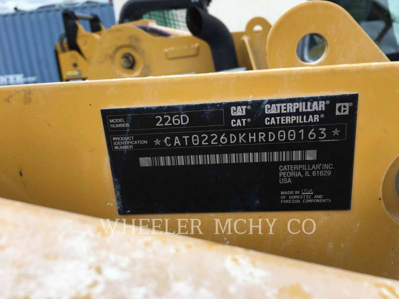 CATERPILLAR CHARGEURS COMPACTS RIGIDES 226D C3 equipment  photo 2