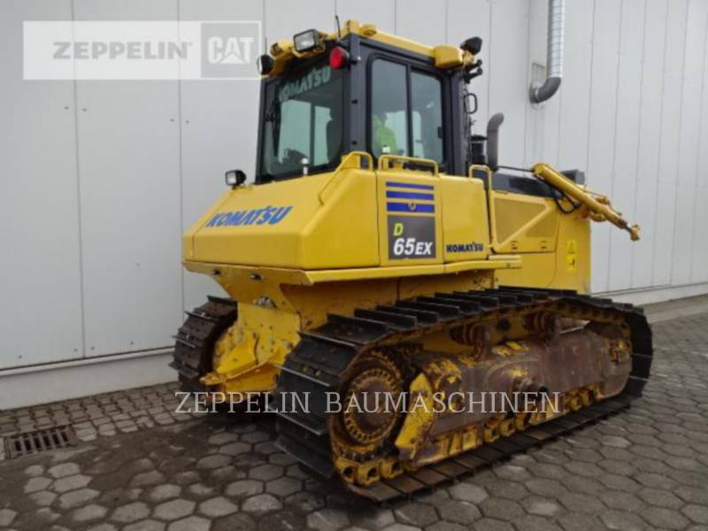 KOMATSU LTD. TRACK TYPE TRACTORS D65EX-17 equipment  photo 4