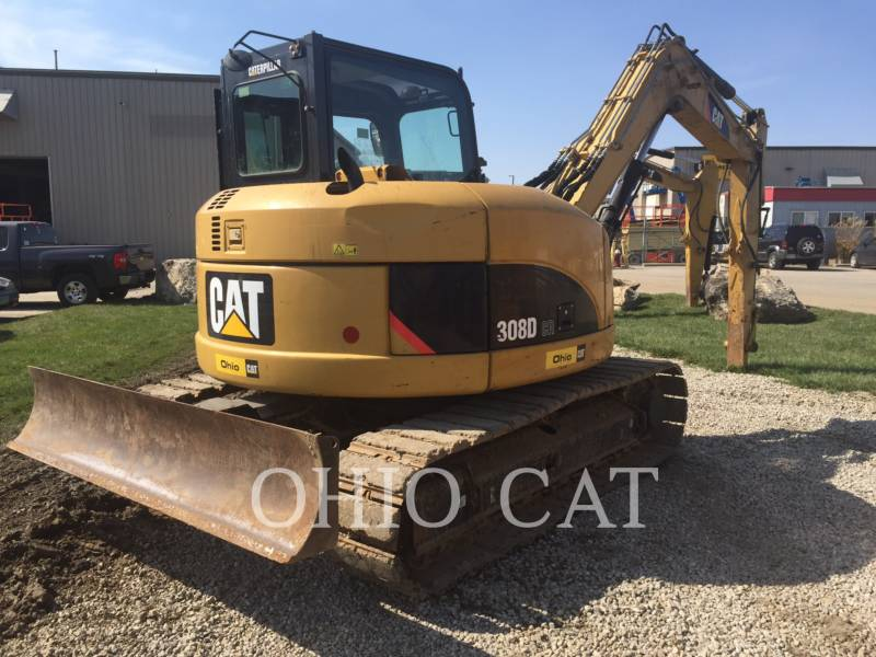 CATERPILLAR PELLES SUR CHAINES 308DCR SB equipment  photo 5