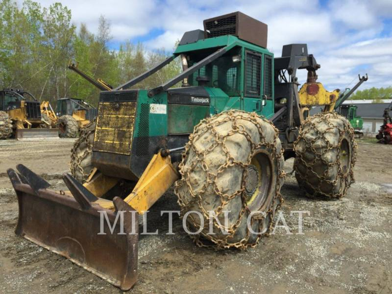 TIMBERJACK INC. SILVICULTURA - TRATOR FLORESTAL 450 equipment  photo 4