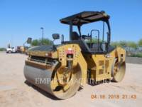 CATERPILLAR TANDEMVIBRATIONSWALZE, ASPHALT CB66B equipment  photo 2