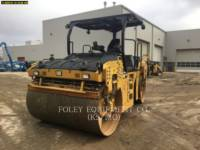 Equipment photo CATERPILLAR CB68B TANDEMOWY WALEC WIBRACYJNY DO ASFALTU (STAL-STAL) 1