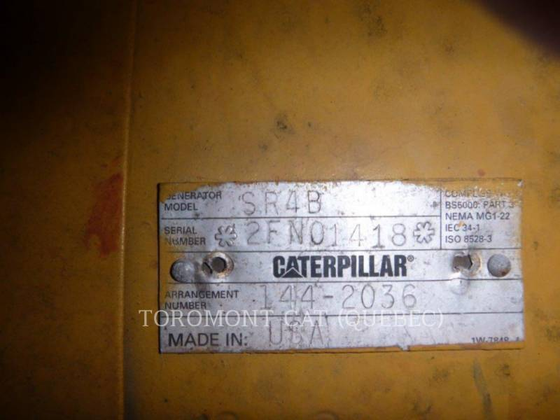 CATERPILLAR MODULES D'ALIMENTATION HQ1000_3512_347/600V equipment  photo 13