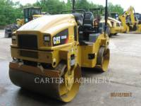 CATERPILLAR VIBRATORY DOUBLE DRUM ASPHALT CB36B equipment  photo 4