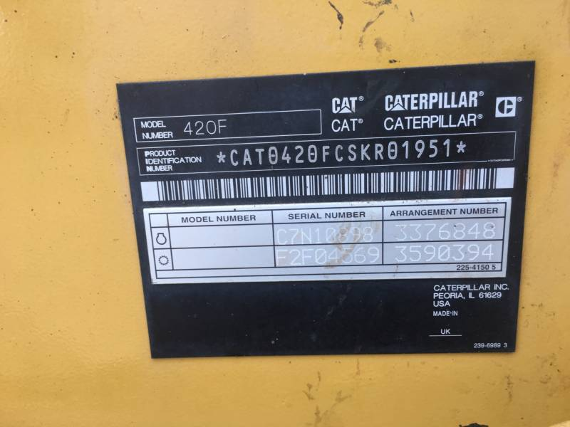CATERPILLAR RETROEXCAVADORAS CARGADORAS 420FST equipment  photo 23