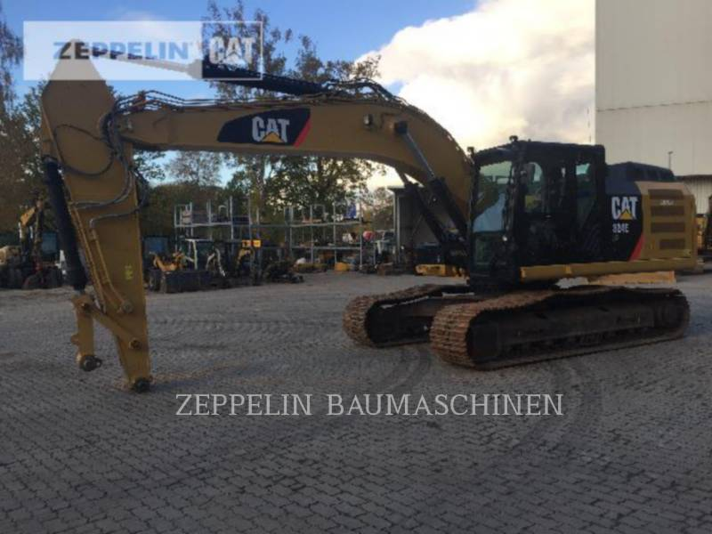 CATERPILLAR トラック油圧ショベル 324ELN equipment  photo 1