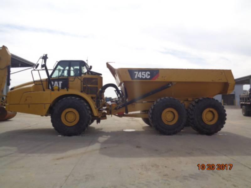 Caterpillar CAMIOANE ARTICULATE 745C equipment  photo 2