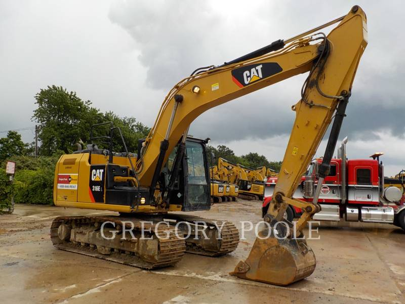 CATERPILLAR トラック油圧ショベル 316E L equipment  photo 4