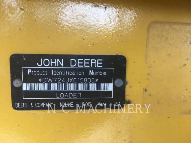 JOHN DEERE WHEEL LOADERS/INTEGRATED TOOLCARRIERS 724J equipment  photo 7