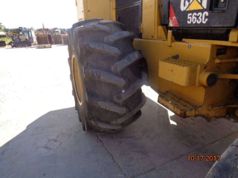 CATERPILLAR FORESTRY - FELLER BUNCHERS - WHEEL 563C equipment  photo 12
