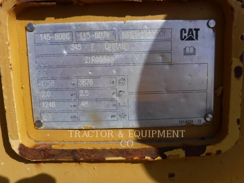 CATERPILLAR WT - BUCKET 345BKT48PO equipment  photo 4