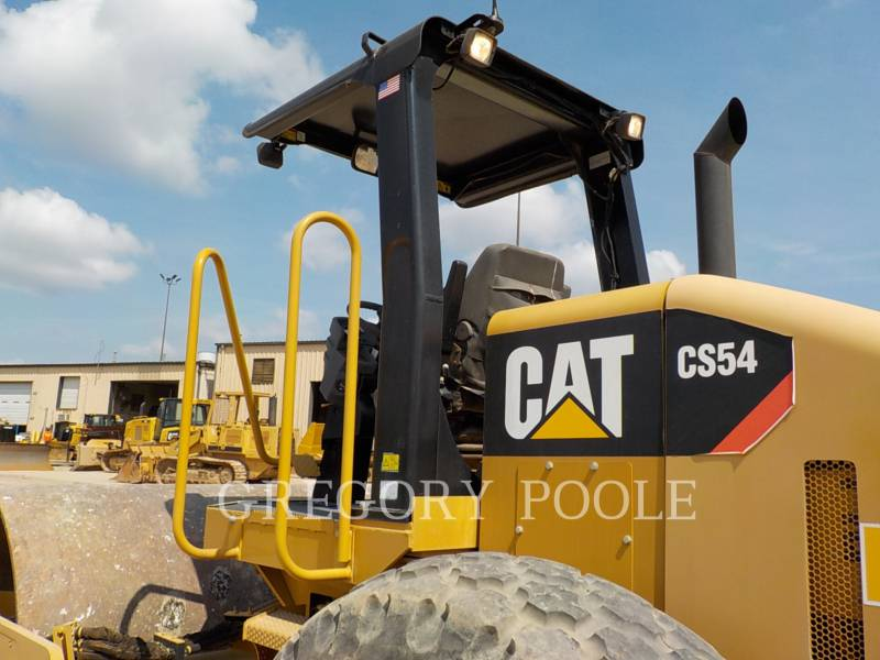 CATERPILLAR EINZELVIBRATIONSWALZE, GLATTBANDAGE CS-54 equipment  photo 10