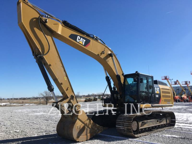 CATERPILLAR PELLES SUR CHAINES 336E equipment  photo 1