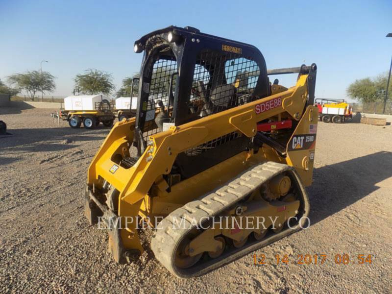 CATERPILLAR KOMPAKTLADER 259D equipment  photo 4