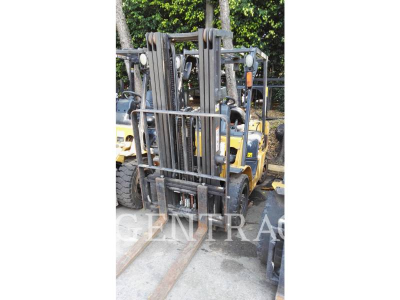 MITSUBISHI CATERPILLAR FORKLIFT FORKLIFTS GP25NM equipment  photo 3