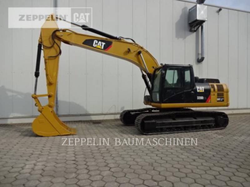 CATERPILLAR KETTEN-HYDRAULIKBAGGER 320D2L equipment  photo 5