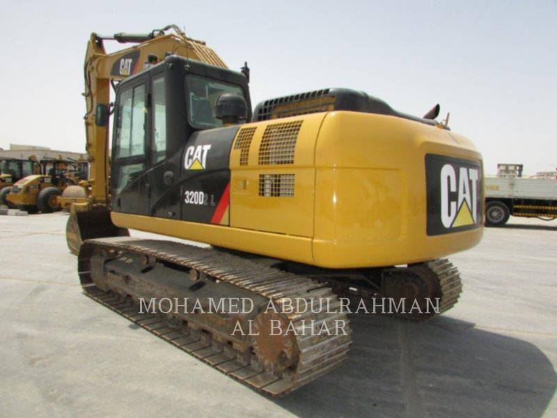 CATERPILLAR TRACK EXCAVATORS 320 D L equipment  photo 3