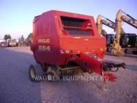 Equipment photo NEW HOLLAND LTD. 664 AG HAY EQUIPMENT 1