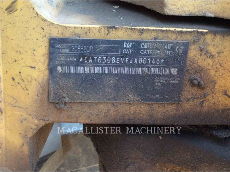 CATERPILLAR EXCAVADORAS DE CADENAS 308E equipment  photo 3