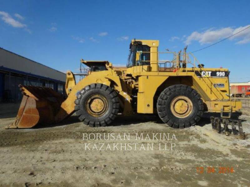 CATERPILLAR CARGADORES DE RUEDAS PARA MINERÍA 990 equipment  photo 7