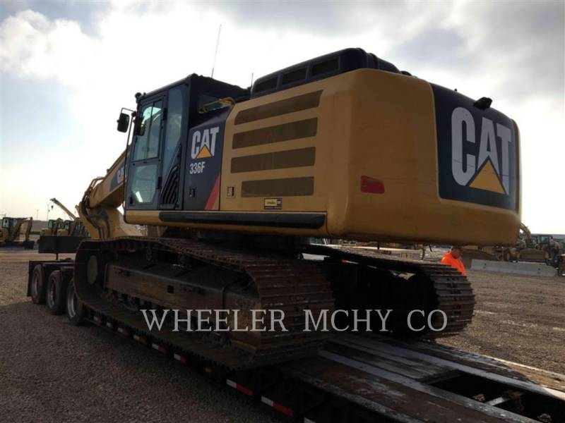 CATERPILLAR TRACK EXCAVATORS 336F L THM equipment  photo 4