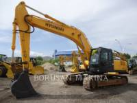 Equipment photo HYUNDAI R290LC-7 PELLE MINIERE EN BUTTE 1