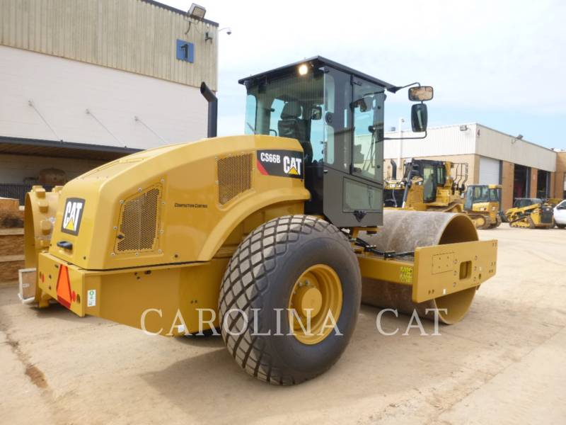 CATERPILLAR VIBRATORY TANDEM ROLLERS CS66B CB equipment  photo 3