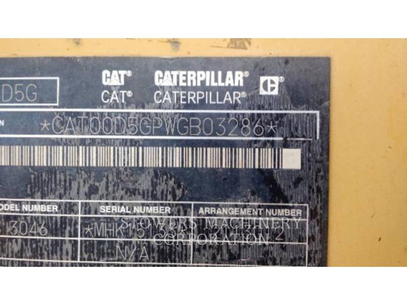 CATERPILLAR TRACTORES DE CADENAS D5GXL equipment  photo 5