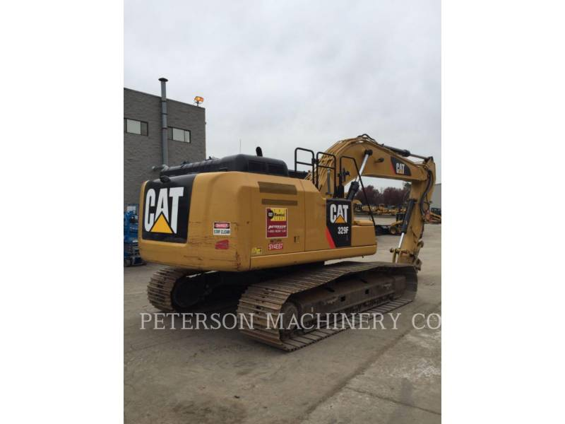 CATERPILLAR EXCAVADORAS DE CADENAS 329F equipment  photo 2