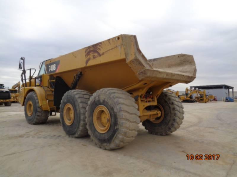 CATERPILLAR TOMBEREAUX ARTICULÉS 740B equipment  photo 3