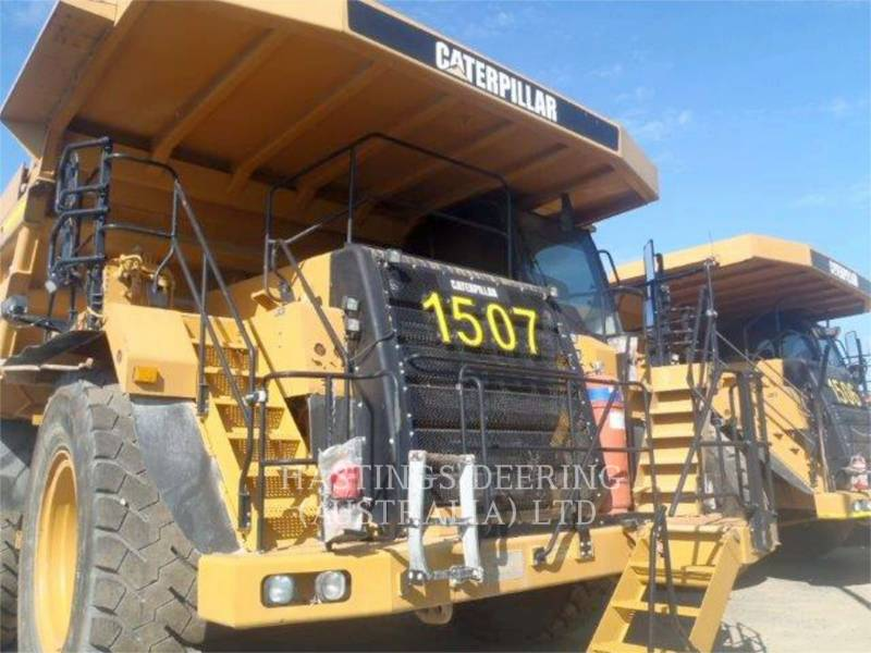 CATERPILLAR TOMBEREAUX DE CHANTIER 777F equipment  photo 2