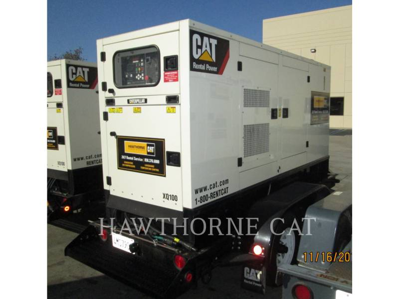 CATERPILLAR GROUPES ÉLECTROGÈNES PORTABLES XQ100 equipment  photo 1