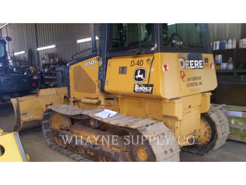 JOHN DEERE TRACK TYPE TRACTORS 650J LT equipment  photo 2
