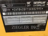 CATERPILLAR BAGGERLADER 420FH2 equipment  photo 6