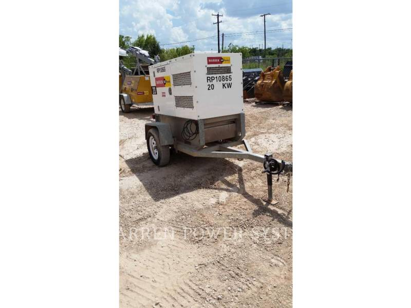NORAM PORTABLE GENERATOR SETS N20 equipment  photo 3