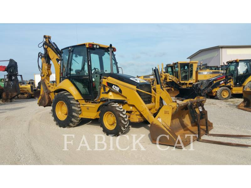 CATERPILLAR BACKHOE LOADERS 420E HT equipment  photo 1