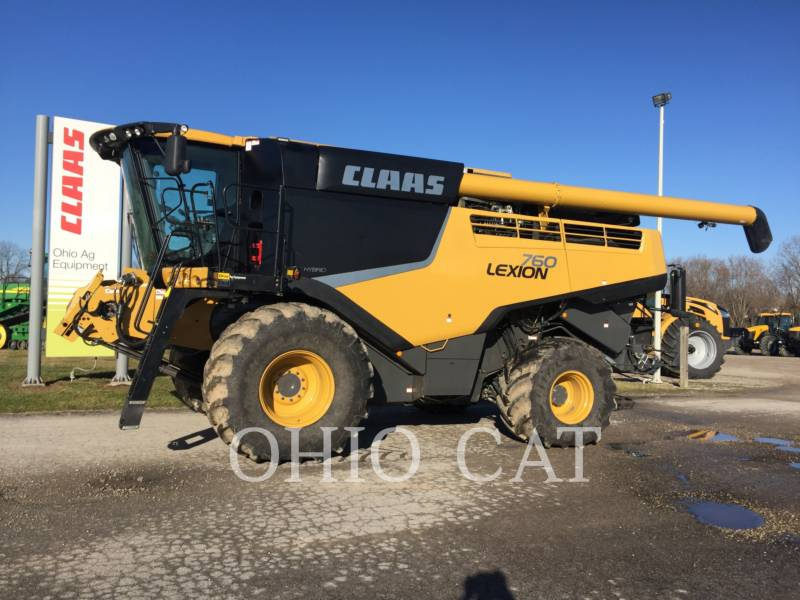 CLAAS OF AMERICA COMBINÉS LEX760 equipment  photo 1