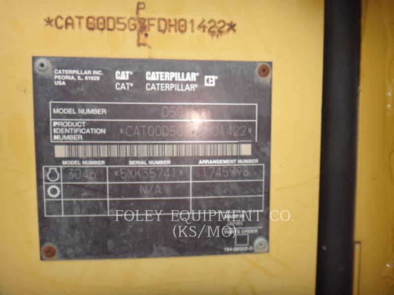 CATERPILLAR KETTENDOZER D5G equipment  photo 16