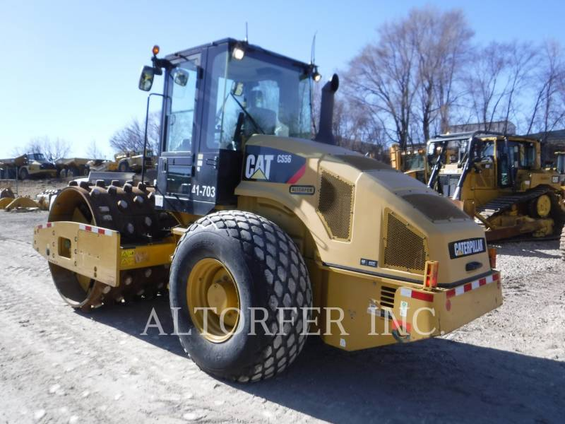 CATERPILLAR VIBRATORY SINGLE DRUM SMOOTH CS56 equipment  photo 6